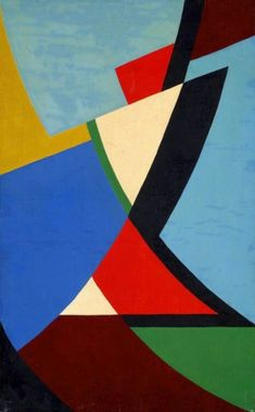 Nicolass Warb - Cadence Unite No. Nicolaas Warb (pseudonym for Sophia Warburg) born in Amsterdam .From 1946 on, Nicolaas Warb exhibited in the 'Salon des Réalités Nouvelles' in Paris with strong, exciting geometric abstract works Contemporary Art Daily, Contemporary Abstract Art, Abstract Geometric Art, Art Abstrait, Art Furniture, Abstract Photography, Art Images, New Art, Graphic Art