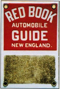 Red Book Automobile Guide Match Strike Porcelain Sign <> What makes these signs unique is the rough surface towards the bottom used to strike matches on. Many of these signs were used in cigar bars and once the strike pad was well worn, they were trashed.