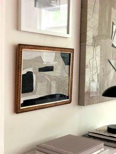 Robin abstract — JOELLE SOMERO Modern Art, Contemporary Art, Geometric Shapes Art, Diy Artwork, Shape Art, Sculpture, Decoration, Framed Art, Design Art