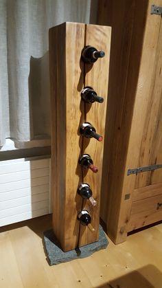 Weingestell aus Buche