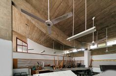 Government college of art Le Corbusier 1950-1965