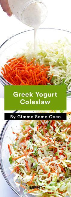 Fourth of July: Greek Yogurt Coleslaw