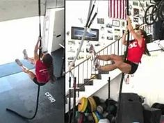 Crossfit demo video- Rope climb. 6 techniques/foot grips. Maybe I can finally figure out the feet....