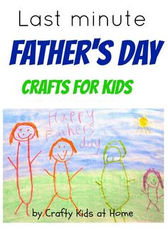 last minute father's day card ideas