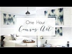 Make Beautiful Canvas Art [in less than an hour!] - Love Create Celebrate