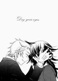 Dry your eyes. (Elliot and Leo, Pandora Hearts)