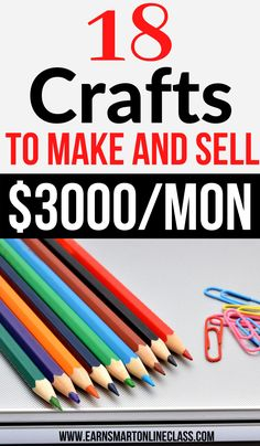 If you are searching for crafts to make and sell for profit then this great list is for you. These 20 amazing craft ideas will helpyou bring in extra cash on the side. Earning money from home is much more easier now than ever before. Learn how to get started with your crafting business today. #craftideas #craftstomakeandsell #earnmoneyfromhome #sidejobstomakemoney #careersfromhome #makemoneyonline #crafting Work From Home Careers, Work From Home Opportunities, Work From Home Tips, Earn Money From Home, Way To Make Money, Make Money Online, How To Make, Easy Business Ideas, Craft Business