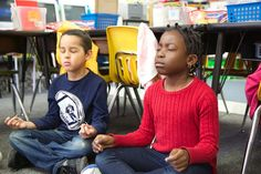 How Mindfulness Could Help Teachers and Students -A five-minute walk from the rickety, raised track that carries the 5 train through the Bronx, the English teacher Argos Gonzalez balanced a rounded metal bowl on an outstretched palm. His class—a mix of black and Hispanic students in their late teens, most of whom live in one of the poorest districts in New York City—by now were used to the sight of this unusual object: a Tibetan meditation bell.
