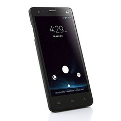 5.0 Pulgada Elephone P3000 Smartphone 4G LTE Android 4.4 MT6582 1.3GHz Quad Core 1GB 8GB HD Pantalla Doble Cámaras + Una Original S-View Flip funda protectora Negro