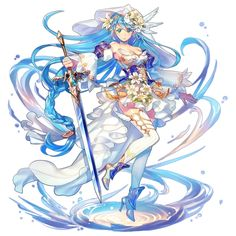 Isabella  Powers: Water manipulation, Small amount of magic, Close combat with sword, Her beauty traps men