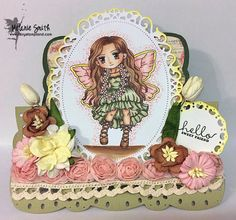 Fairy Stamp Land: Art By MiRan First Design Team Post