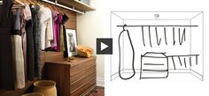 Designing your closet without big bucks: a clear and simple video from Maia Roffey. Thanks to Upscale Consignment Furniture & Decor in Portland for finding this for our HowToConsign.com followers!