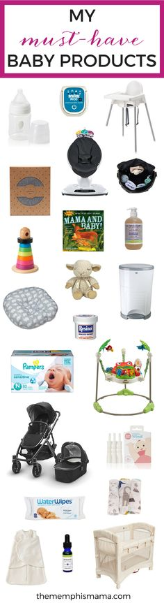 My Must-Have Baby Products, Baby Registry, Baby, What to Buy for Baby | Memphis Mama