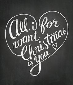 all i want for christmas is you christmas quote