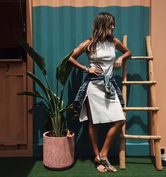 "JULIE SARIÑANA on Instagram: ""So easy breezy in Shane @shop_sincerelyjules dress  | photo by my dear @eslee"""