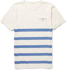 Oliver Spencer Striped T-shirt.
