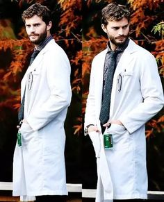 Jamie Dornan as Dr. Allan Pascal in The 9th Life of Louis Drax.