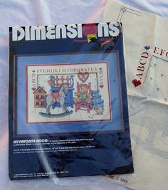 Vintage Dimensions Stamped Cross Stitch Kit My Favoite Room