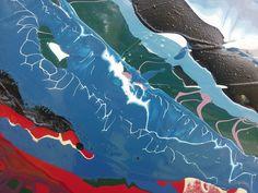 Matthew Reilly's orignal pulled paint process.