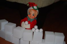Elf on the Shelf idea    snowball #gags #funny story #funny photos| http://your-justforgags-collections.blogspot.com