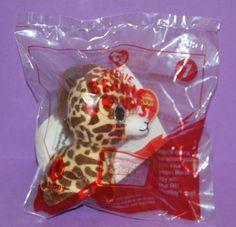McDonald's Happy Meal Toy Ty Teenie Beanie Boo's Twigs Giraffe #7 NEW 2017 NIP