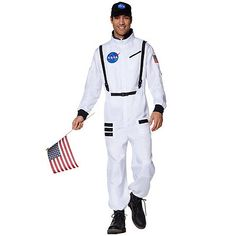 caf55b7498e9 Get ready for blastoff with this  NASA spacesuit!  SpiritHalloween ...