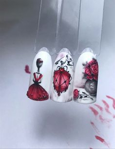 #naildesign #nailart #romanticnailart
