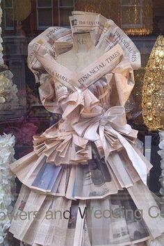 *Royal Wedding window display.