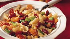This traditional beans-and-pasta dish is on the table in only 20 minutes. Now that's quick!