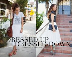 Merrick's Art // Style + Sewing for the Everyday Girl: One Piece Multiple Ways Skirt Outfits, Cool Outfits, Summer Outfits, Fashion Outfits, Fashion Tips, Midi Skirt Casual, Pleated Midi Skirt, Merricks Art, My Sisters Closet