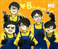 Despicable Me anime form
