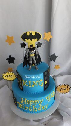 Batman Cake 2 cakepins.com