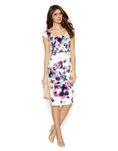 Amazon.com: Monsoon Womens Christie Print Shift Dress Size 8 Multi: Clothing