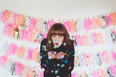 Best blogger headshot? We think so. Go confetti! #blogsociety