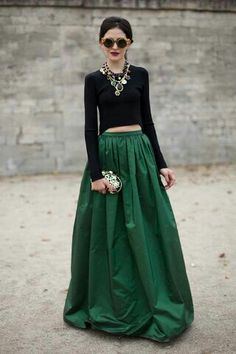 #black #green #classy