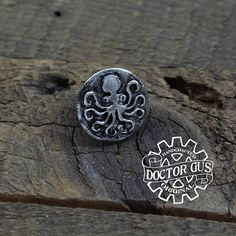 Octopus Pin Tentacle Tie Tack Cthulhu Inspired Cephalopod Octopus Jewelry, Octopus Tentacles, Tie Accessories, Steampunk Costume, Recycled Jewelry, Suit And Tie, Cthulhu, Tack, The Help
