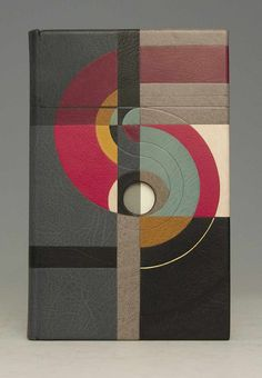 Revolution in Mind and Practice by Robert Owen | Bound by Derek Hood // covered in multiple inlays over sculpted boards