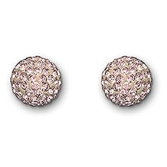 Pop Vintage Rose Stud Pierced Earrings - pretty!