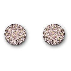 Pop Vintage Rose Stud Pierced Earrings - pretty!