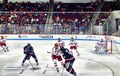 Go go @bostonu hockey! #bostonuniversity  by mquinn246