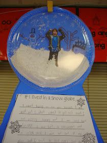 Clear plastic plates to make a snow globe. Neat idea but I have never seen clear plastic plates Classroom Crafts, Classroom Activities, Classroom Ideas, Classroom Inspiration, Writing Activities, Winter Fun, Winter Theme, Winter Craft, Winter Project