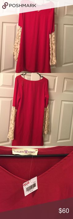 NWT Altar'd State: Small Dress. NWT Altra'd State: Small dress. Smoke free home. Altar'd State Dresses Long Sleeve