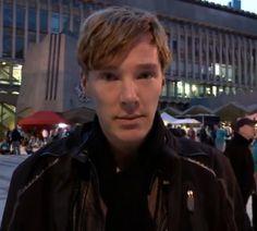 awww he's so cute :) Benedict Cumberbatch