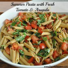 Great summer arugula pasta!