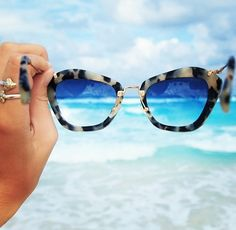 summer styles, point of view, sunglass, the view, the ocean, ocean waves, beach, miu miu, style guides