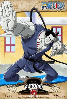 One Piece - Kuroobi by OnePieceWorldProject.deviantart.com on @DeviantArt