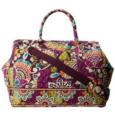 bf2988c4f6 Cheap Vera Bradley Luggage - Frame Travel Bag (Plum Crazy) - Bags and  Luggage