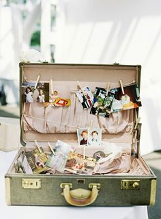 in addition to my vintage suitcase for cards - post pics