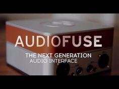 AudioFuse is a revolutionary audio interface that sets a new standard in audio quality and workflow. Enjoy the superior sound of high-end studio consoles fro...