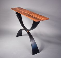 The Nile: Michael McCoy: Wood Console Table - Artful Home